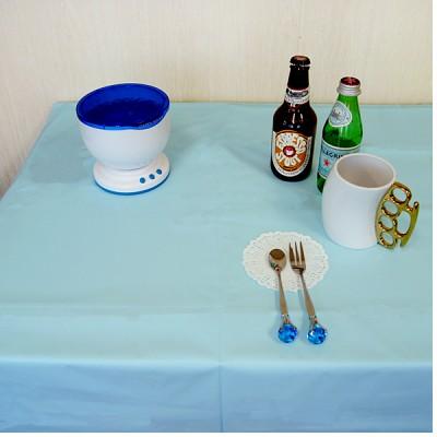 파스텔 파티 테이블 커버
