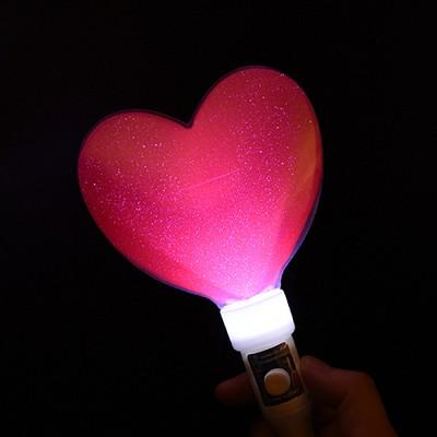 LED 큐티 하트봉 [핑크]
