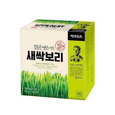 [쌍계명차] 일반티백 새싹보리 40티백