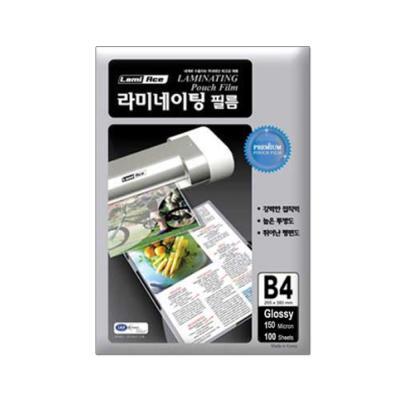 라미에이스 고급형 코팅필름 150MIC B4(100매)