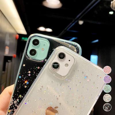 P552 아이폰6S플러스 반짝이 글리터 젤리 케이스
