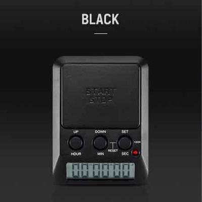드레텍 Dday 디데이 스탑워치 블랙 T-580BK