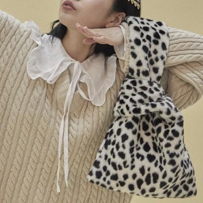 [펀프롬펀]Eco fur bag_cheetah