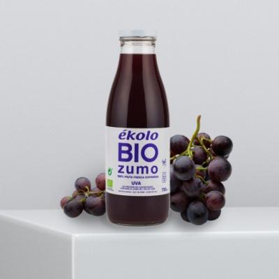 프리미엄 유기농 100% 포도 착즙 에콜로 주스 750ml