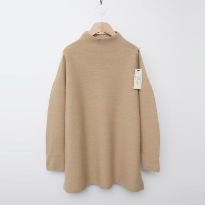 Laine Wool Half Turtleneck Slit Sweater