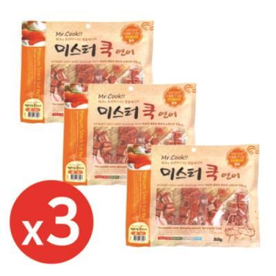 미스터쿡300g 연어큐브 x3개 강아지간식