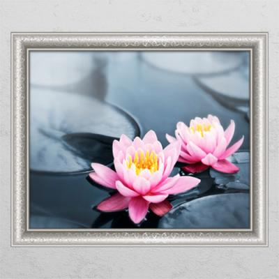 cl425-풍수부귀로운연꽃3_창문그림액자