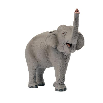 227529 아시아코끼리 동물피규어