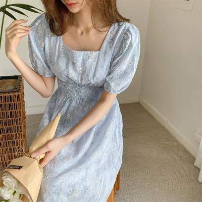 Angel Square Puff Dress