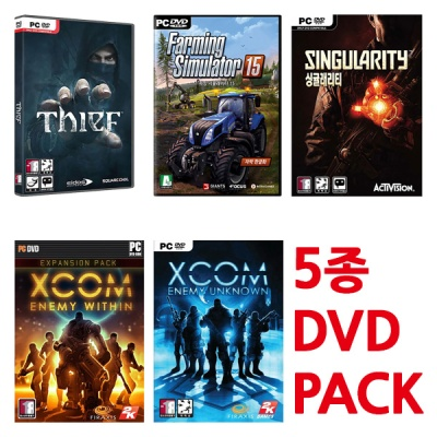 PC 시프 포함 게임5개 9900원 초특가 (DVD/새제품)