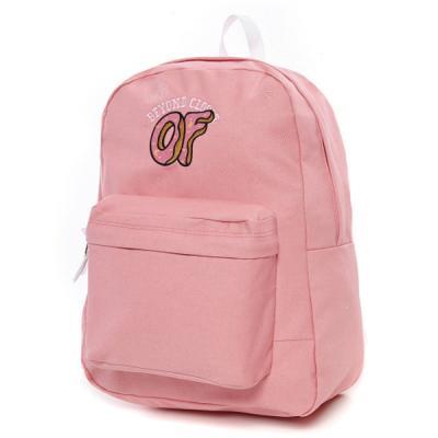 [비욘드클로젯X오드퓨처] 베이직 로고 백팩 - 핑크