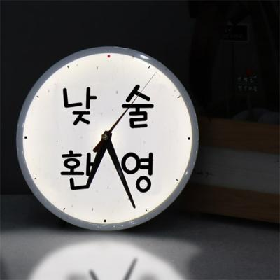nf223-LED시계액자25R_낮술환영