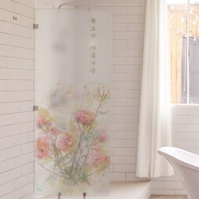 pb528-꽃보다아름다운_유리문시트지