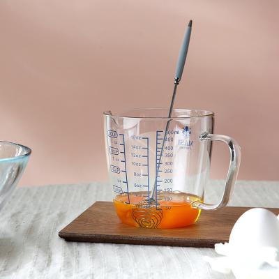 [마시피렌체]내열유리 블루 계량컵(2size)