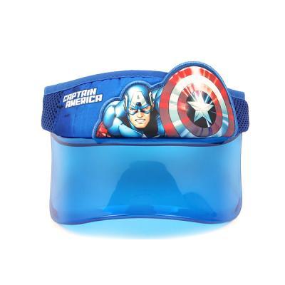 마블 캡틴 UV 썬캡 블루
