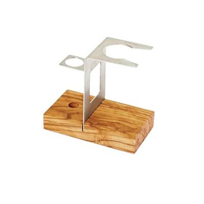 쉐이빙 키트 스탠드 올리브 우드_ Shaving Kit Stand Olive Wood