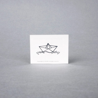 paper ship 패션타투
