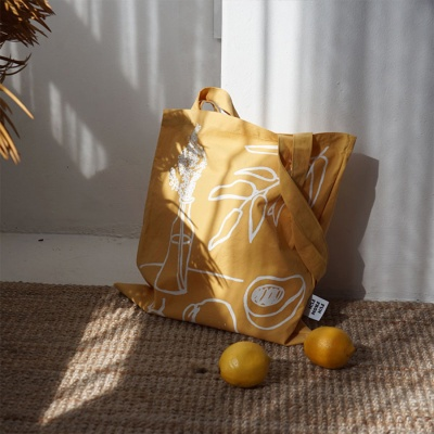 Sunday morning bag_yellow
