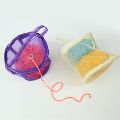 매쉬 뜨개 보조가방