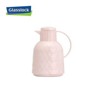 글라스락 보온·보냉주전자 1L (핑크)_1조