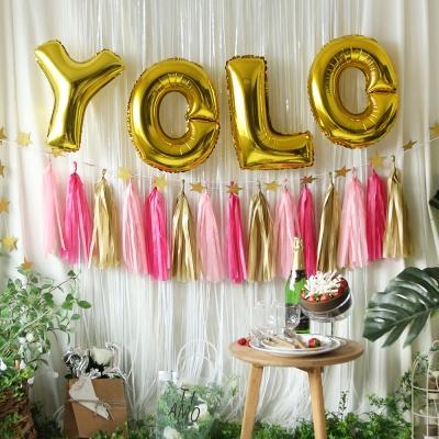 oh! 트렌드 파티 장식세트 (YOLO)