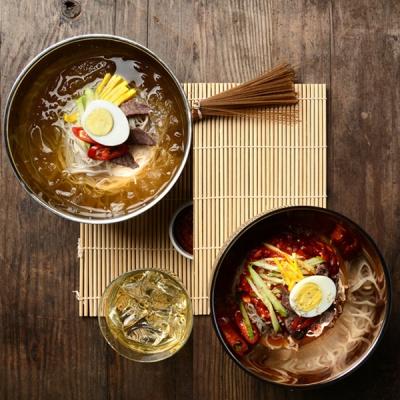 [명家] 칡냉면 동치미육수(5인분)+비빔냉면(5인분)