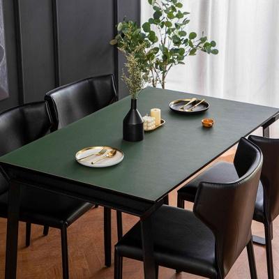 아멜린 양면 테이블 가죽매트 식탁 테이블커버