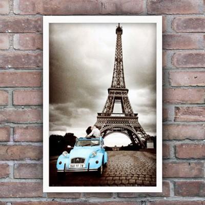 159243 파리 에펠탑 - 블루카 포스터