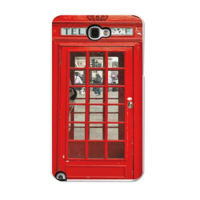PUBLIC TElEPHONE RED HAR CASE(갤럭시노트2)