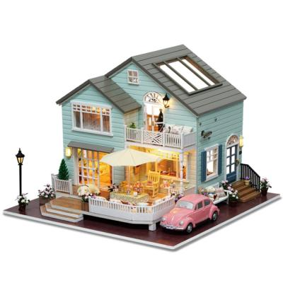 [adico]DIY 미니어처 풀하우스 - 퀸스타운