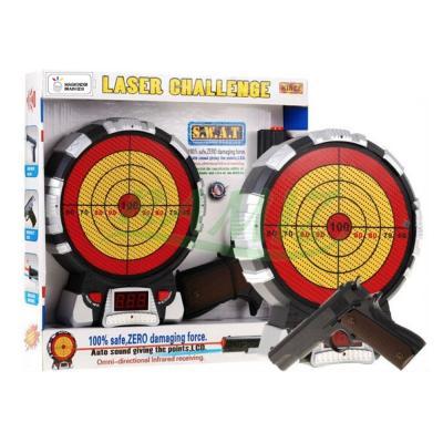 맥킨더 레이저 권총 표적게임