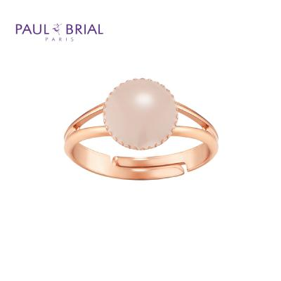 폴브리알 PYBR0108 (PG) 서클 투라인 반지 BEIGE