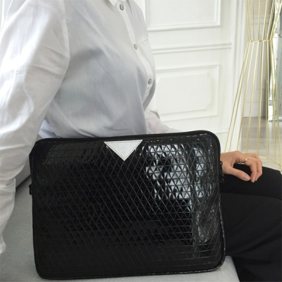 V+L laptop(macbook) pouch fashion clutch black
