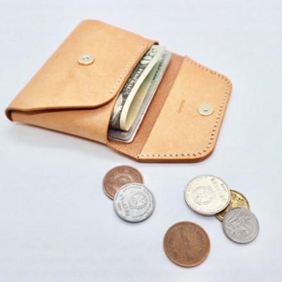 베지터블 가죽카드/명함지갑