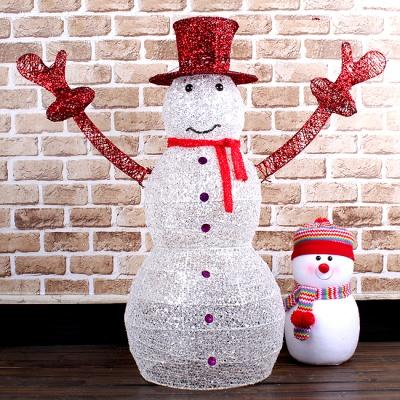 125cm 크리스마스 허그 눈사람 장식 (중)