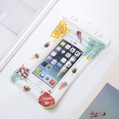 써머 아이스 스마트폰 튜브 방수팩 IP8 휴대폰방수팩
