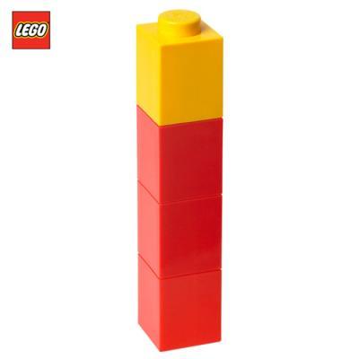 [밤나무] 레고 물병 스퀘어 보틀 레드 350ml