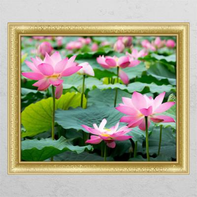 cl423-풍수부귀로운연꽃1_창문그림액자