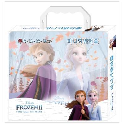 겨울왕국2 미니 가방 퍼즐 : 8, 10, 12, 14 조각