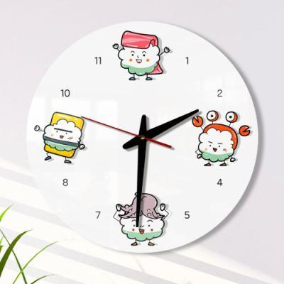 ga058-아크릴시계_귀여운초밥캐릭터