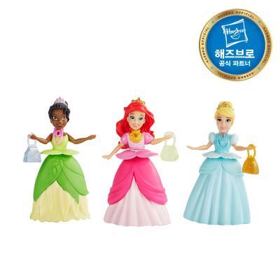 디즈니프린세스 미니돌 서프라이즈 드레스 인형