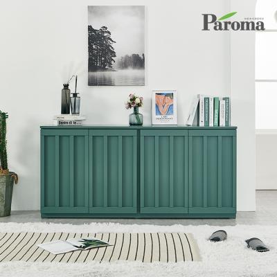 파로마 라비 유색 높은 거실 수납장 GS048