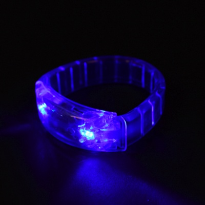 LED점등 젤리 팔찌 [블루]
