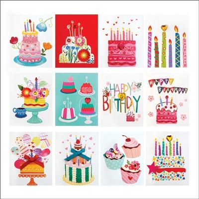 생일축하카드 FT5051 (12종세트상품)