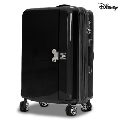 [디즈니]파스텔 여행가방 블랙 24 사이즈 캐리어