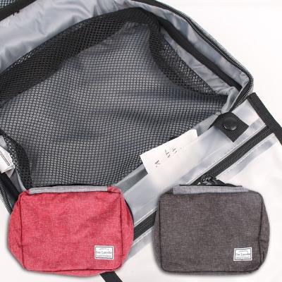 기라로시 투톤 휴대용 파우치 여행 수납 가방