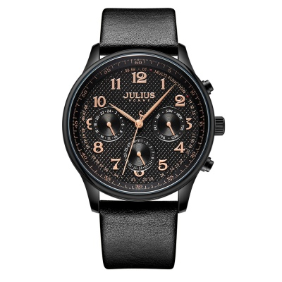 [쥴리어스 옴므 공식] JAH-108 남성시계 가죽시계