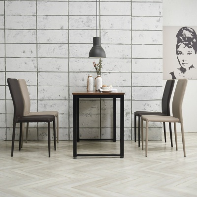 포스티 식탁 세트A 1400 + 의자 4개포함
