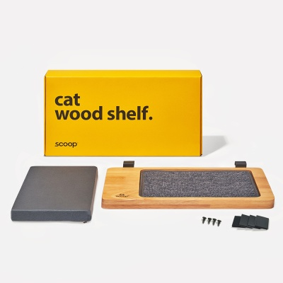 펫레스트 캣선반 (원목 고양이선반, 창틀침대)
