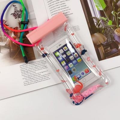 플라밍고 스마트폰 튜브 방수팩 IPx8 휴대폰방수팩